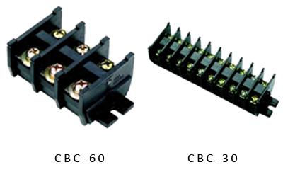 Din Rail Terminal Block 2 fungsi Model kasuga hitam