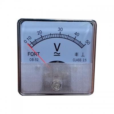 Analog Panel Meter Model Helles Volt Meter OB-45