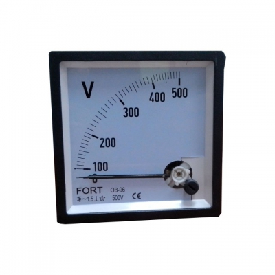 Analog Panel Meter - Volt Meter Class 1.5 FT-72