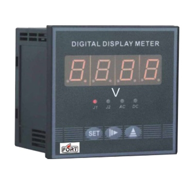 AC Digital Voltmeter 3 display by selector switch