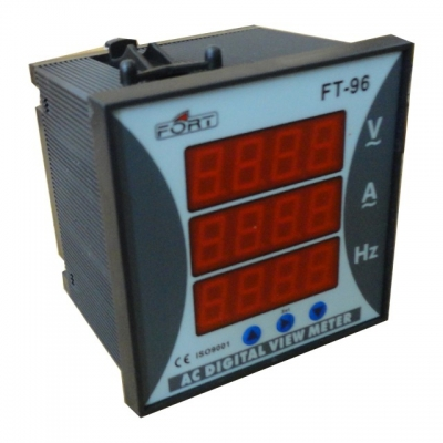 AC Digital Multi Meter (V,A,HZ)
