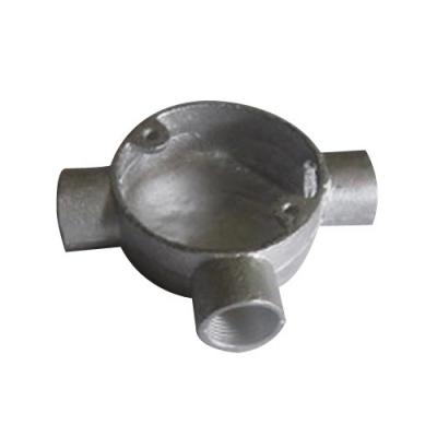 Circular Junction Box 3 way- steel
