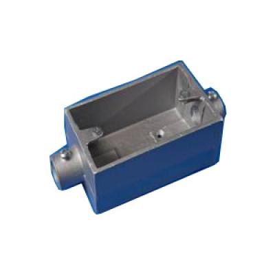 Surface switch box 2 way material alumunium