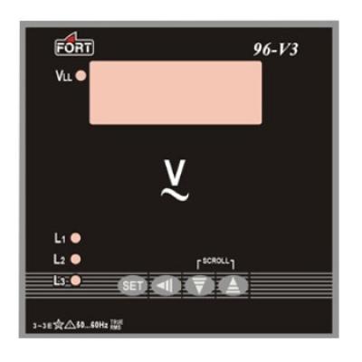 Ac Digital Amperemeter