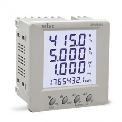 Digital Multifunction Meter LCD SELEC