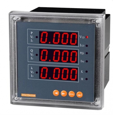 Digital Multifunction Meter LED SELEC