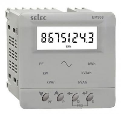 Digital VAF & Energy Meter LCD SELEC