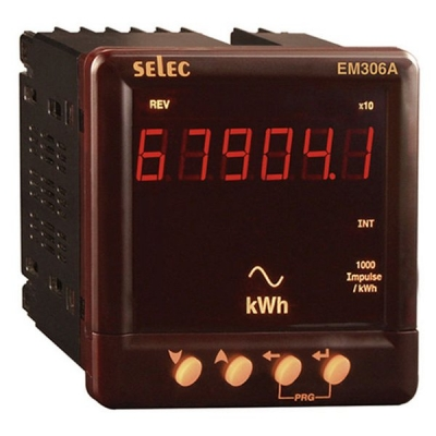 Digital VAF & Energy Meter LED KWh SELEC