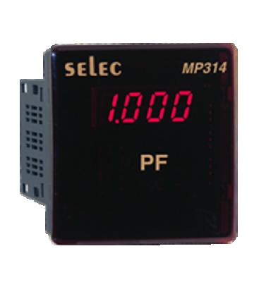 Digital VAF & Energy Meter LED Power factor Meter SELEC