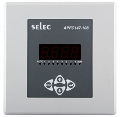 POWER FACTOR CONTROLLER LCD SELEC