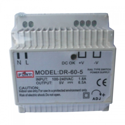 Power Supply Type Din Rail Single Output