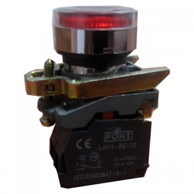 Command Switch Ilminated Push Button With LED type baru