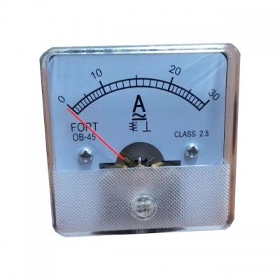Analog Panel Meter Model Helles Ampere Meter OB-45