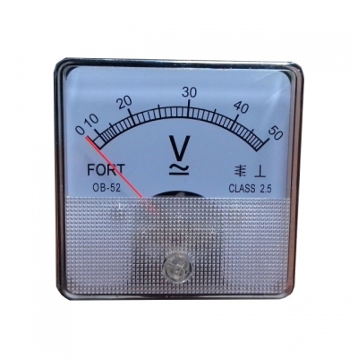 Analog Panel Meter Model Helles Volt Meter OB-52
