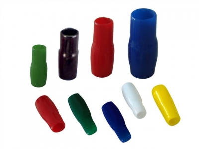 Terminal Vinyl Insulation Merah, kuning, hitam, biru & hijau