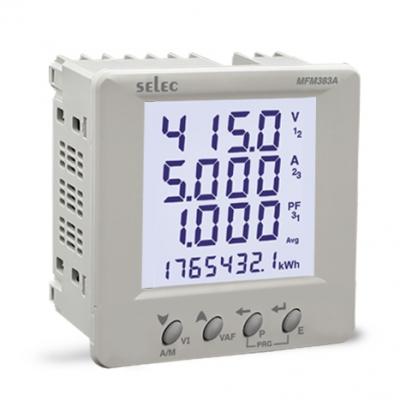 Digital Multifunction Meter LCD SELEC