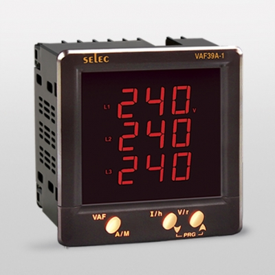 Digital VAF & Energy Meter KWh LED SELEC