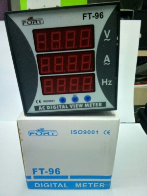 AC Digital VAF Meter (Multimeter)