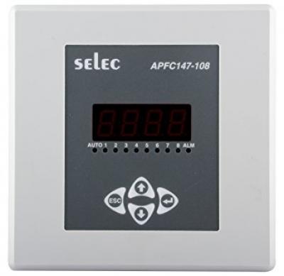 POWER FACTOR CONTROLLER LCD SELEC