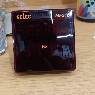 Digital Frequency LED hz meter & Power Factor Meter