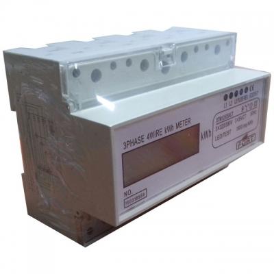 Single Rate/Tarif Three Phase, 4W/50HZ Digital
