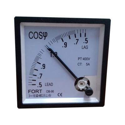 Power Factor Meter Class : 1.5 FT-96